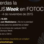 Vive la OLYMPUS Week del 29 de octubre al 4 de noviembre en Fotocentro Gijón