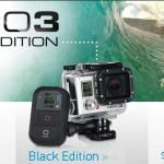 Nueva gama de cámaras GoPro Hero3